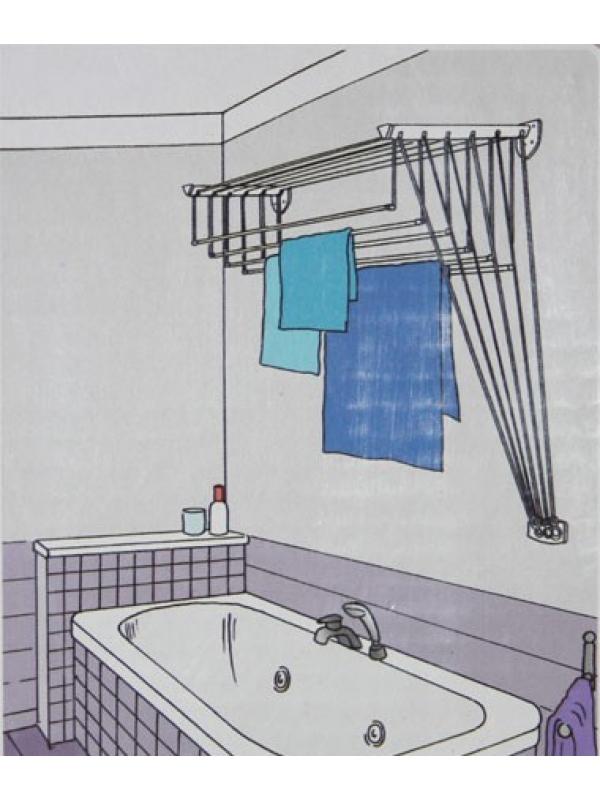 Как сделать сушилку для ванной.