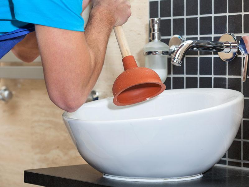 Чистка раковины в домашних условиях